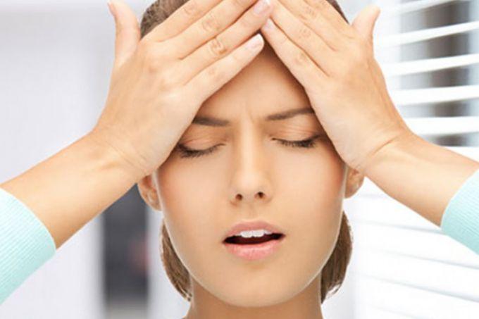 Точечный массаж против головной боли в домашних условиях