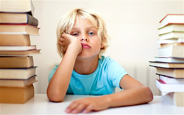 ребенок не делает домашнее задание