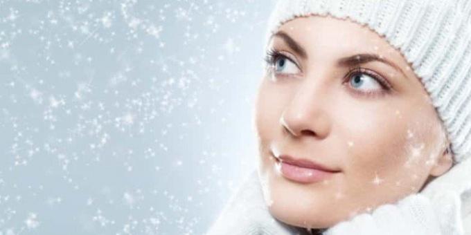 Уход за кожей лица во время холода