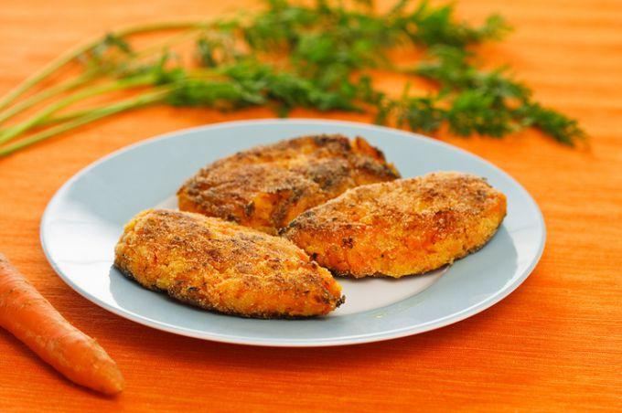 Постные блюда: морковные котлеты