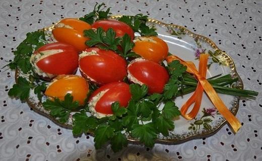 """Закуска на 8 марта """"Тюльпаны"""""""