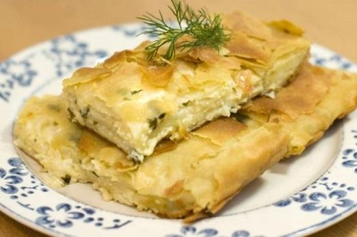 Рецепт пирога из лаваша с сыром