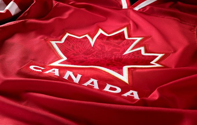 The team Canada at the world Cup of hockey 2016