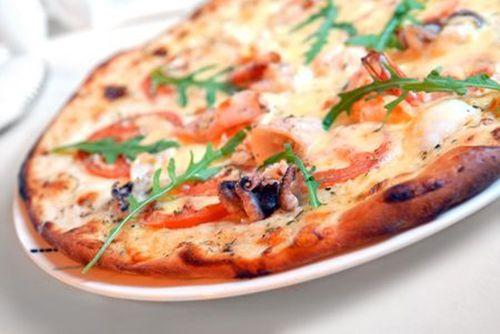 Пицца с морепродуктами рецепт с фото