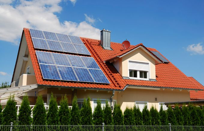 Solar panels - the cheapest way to provide electricity