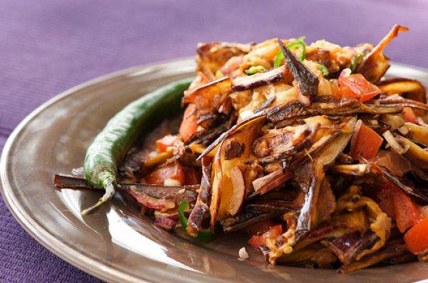 Арабский салат - легкое овощное блюдо