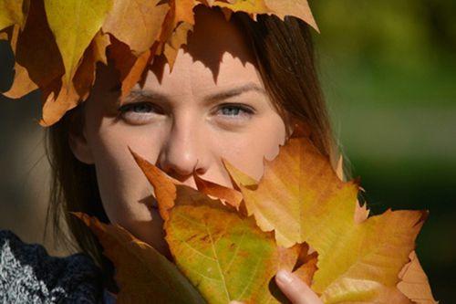 Осенний цветотип внешности