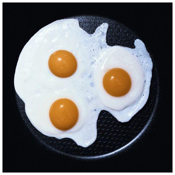 Настоящая яичница