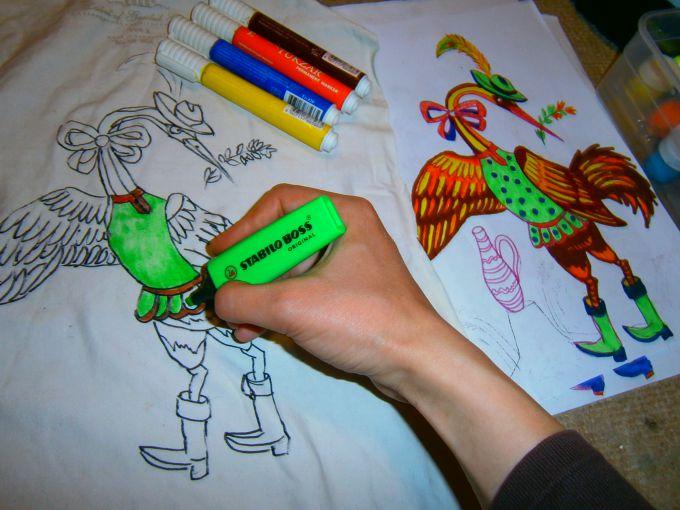 Что лучше рисовать фломастерами