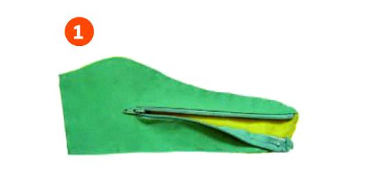 Как сшить крокодила-трансформера