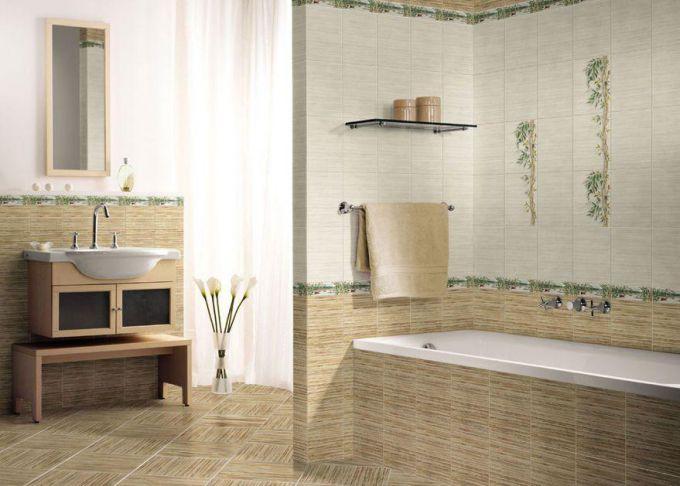 Некоторые аспекты выбора плитки для маленькой ванной комнаты