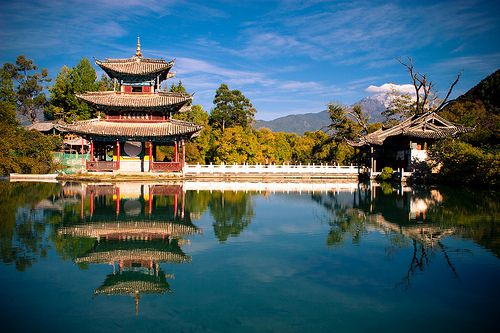 An ancient city in Lijiang