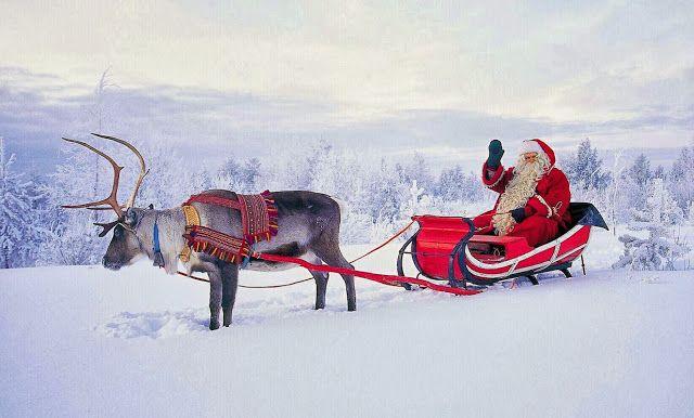 В Финляндию к Санта Клаусу