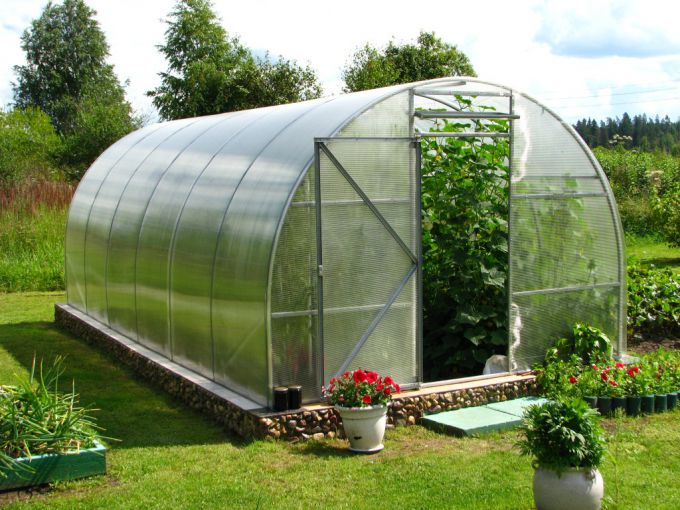 The establishment of greenhouses