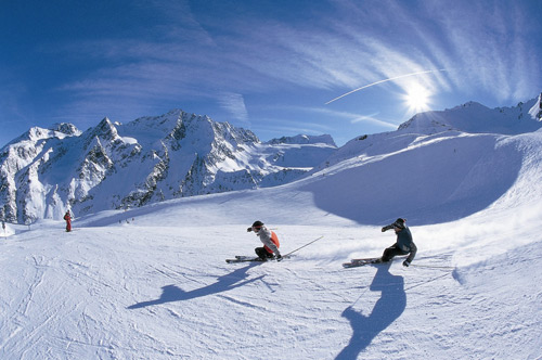 A little-known ski slopes