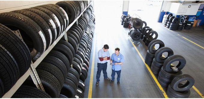 Хранение автомобильных зимних шин летом