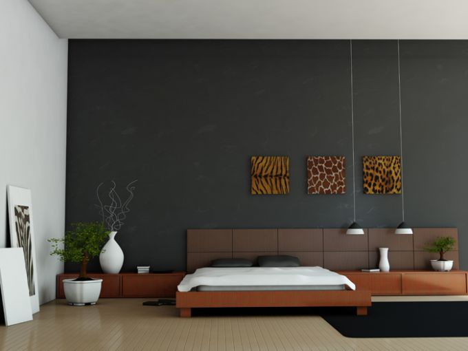 Interior: minimalist style in the forefront