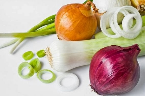 The use of onions in folk medicine