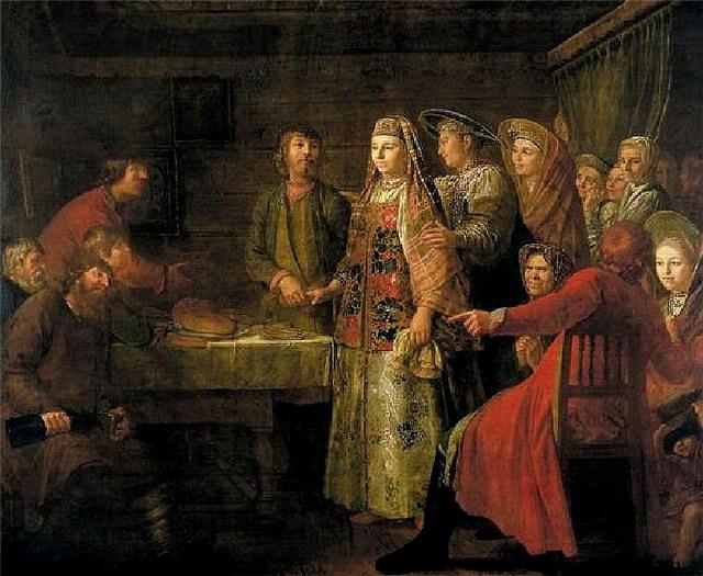 Сватовство невесты - русский обычай