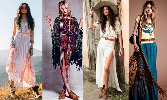 Style Bohemian clothing