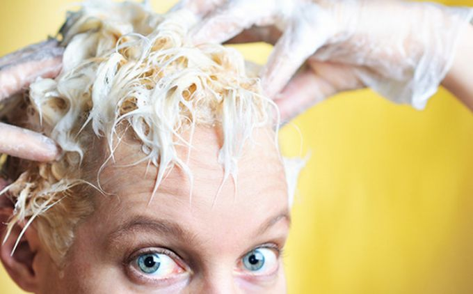 Popular mistakes in home hair coloring