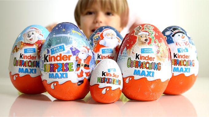 There are several ways to determine what is inside Kinder surprise eggs