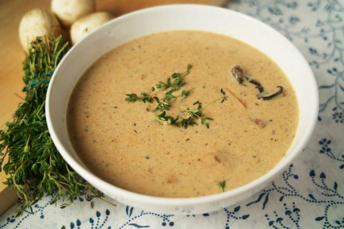 Пикантный суп «под крышкой»