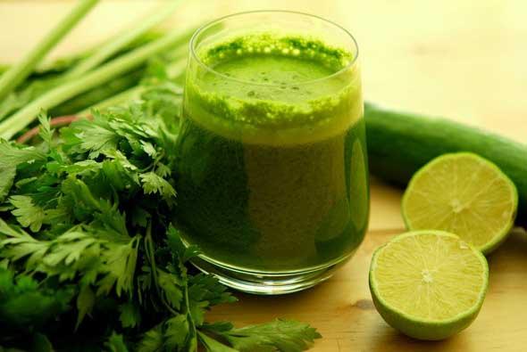 Зеленые коктейли для оздоровления организма