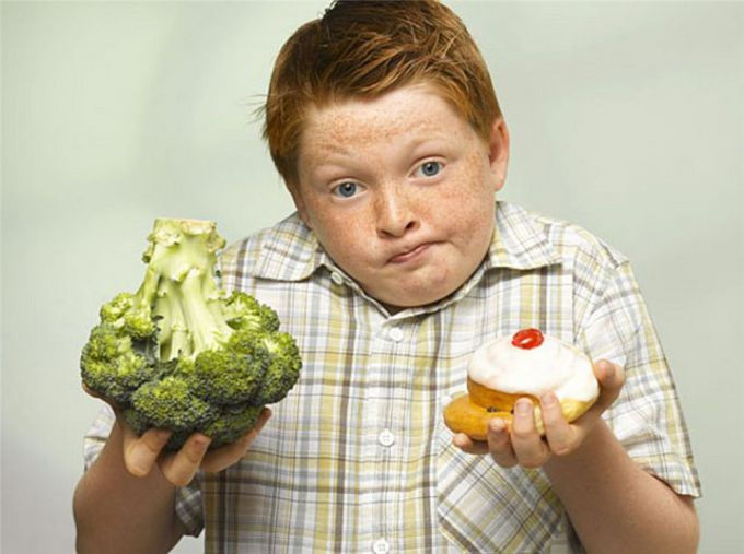 Diet meals for overweight children