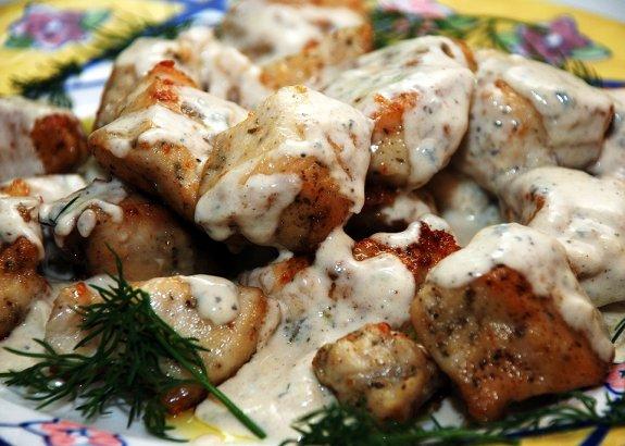 Куриное филе рецепты на сковороде с подливкой