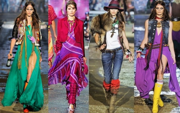 A new trend in fashion - boho-chic