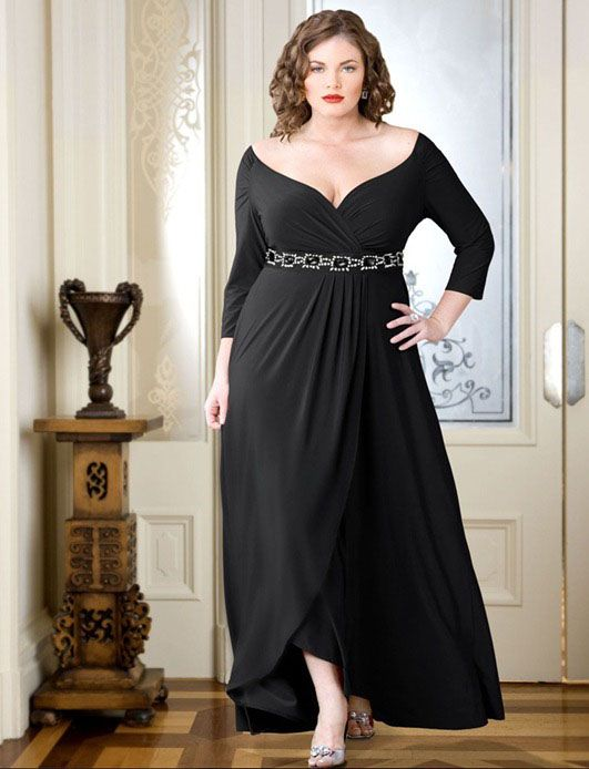 Closet for ladies with curvaceous