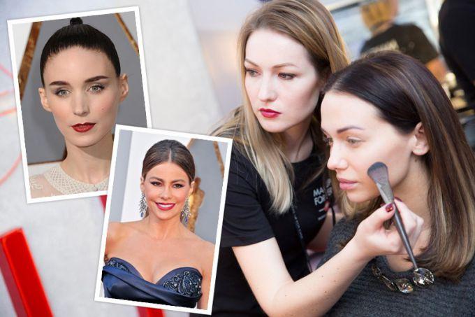 Коррекция лица при помощи макияжа