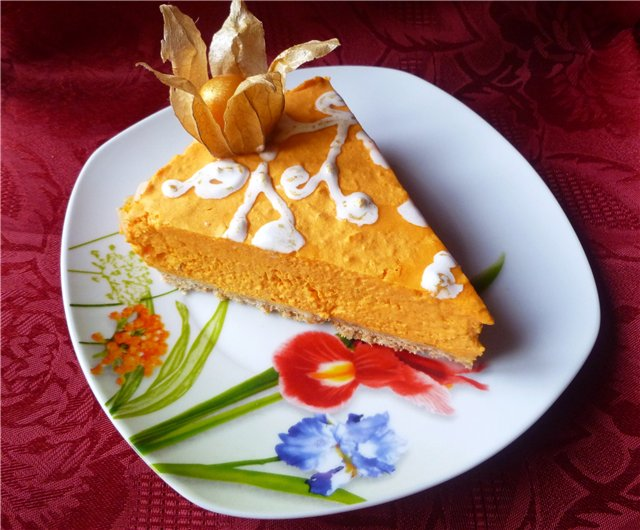 How to cook cheesecake with pumpkin