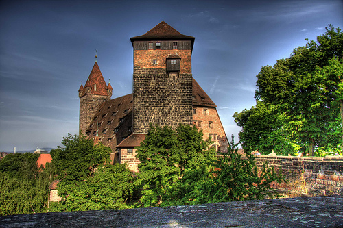 Кайзербург — основная крепость Нюрнберга