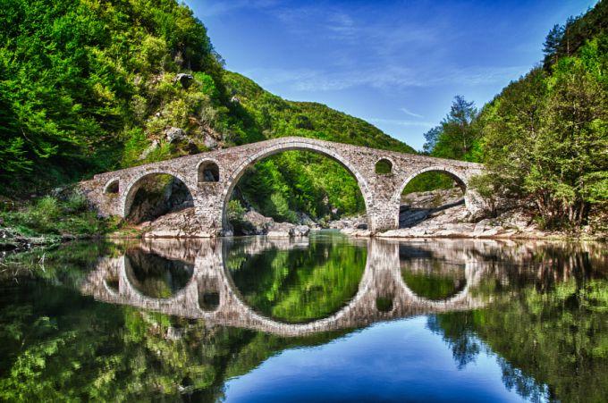 дьявольский мост в Болгарии