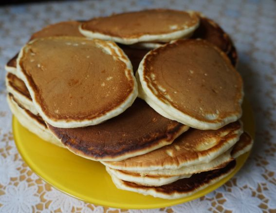 How easy it is to bake delicious pancakes