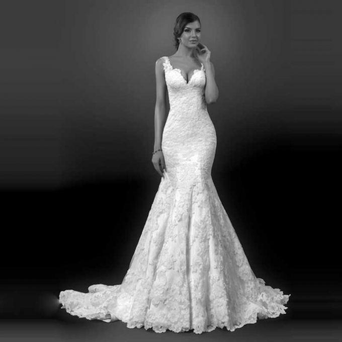 Красивые свадебные платья стиля винтаж