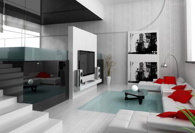 Использование стиля минимализм в интерьере