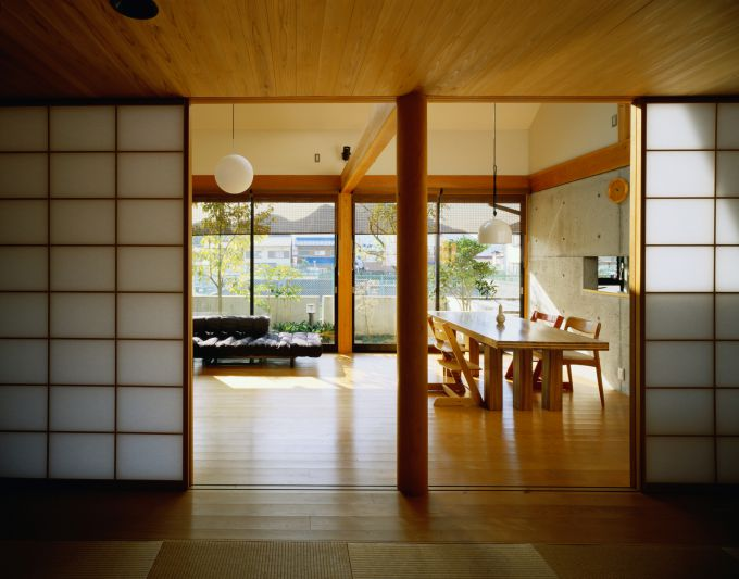 The organization of the living space according to Feng Shui