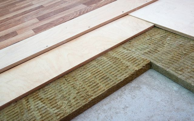 How to make a soundproofing floor