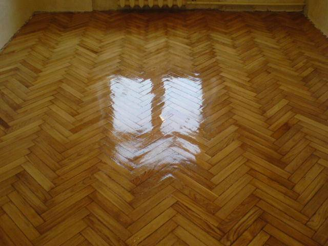 How to make varnish for parquet