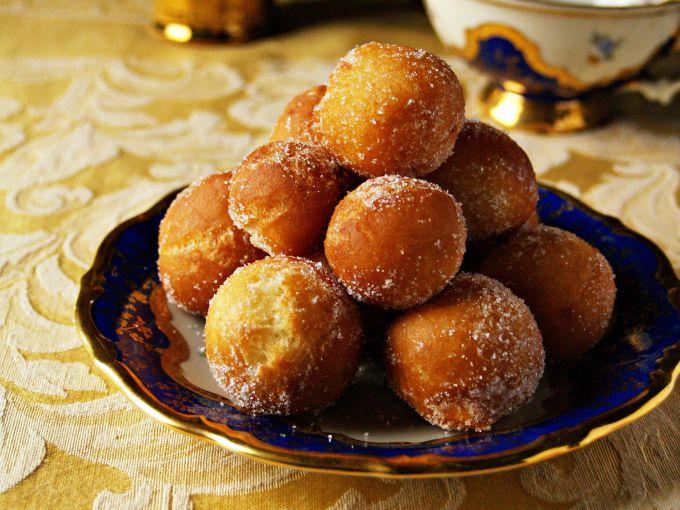 How to make an Apple-orange doughnuts