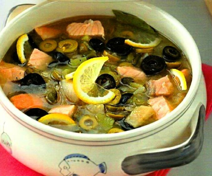 How to cook a delicious fish soup