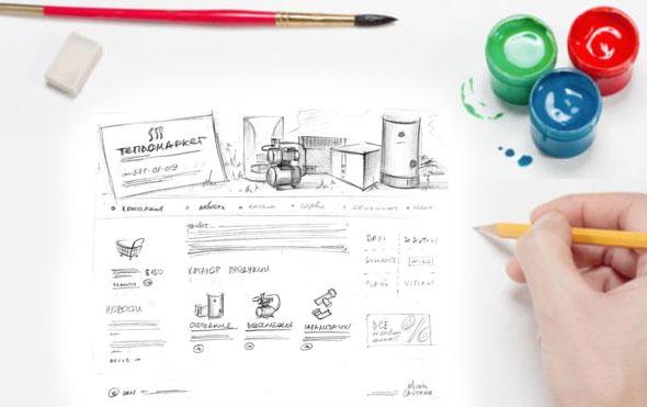 Основные принципы дизайна сайта
