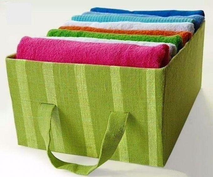 Ящик для хранения одежды своими руками