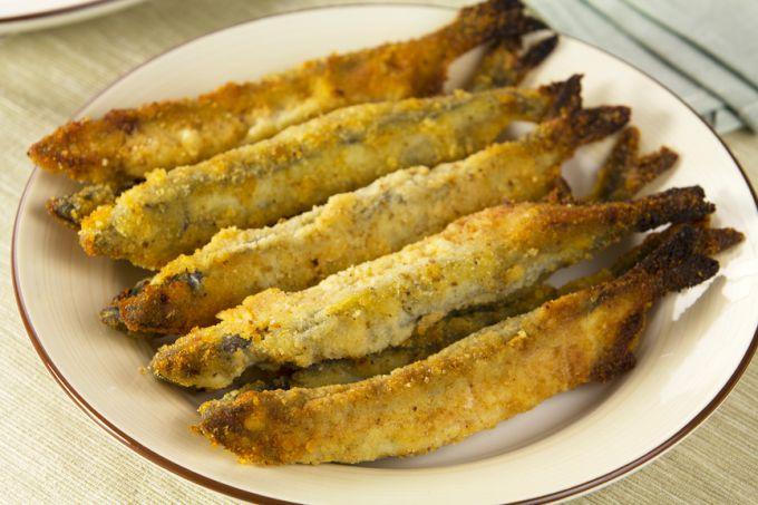Capelin tempura