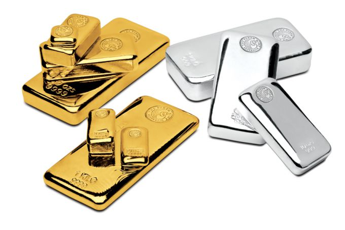 Properties of gold and silver for man