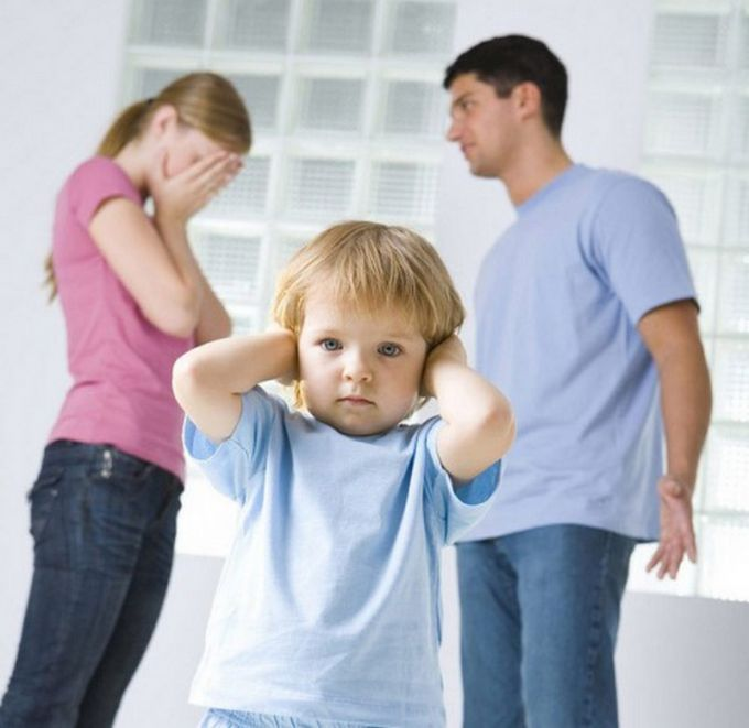 Fighting in front of the kids correctly: advice