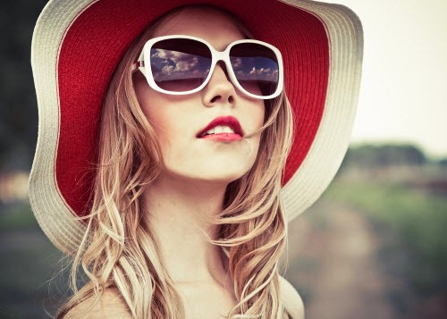 Protect hair in summer
